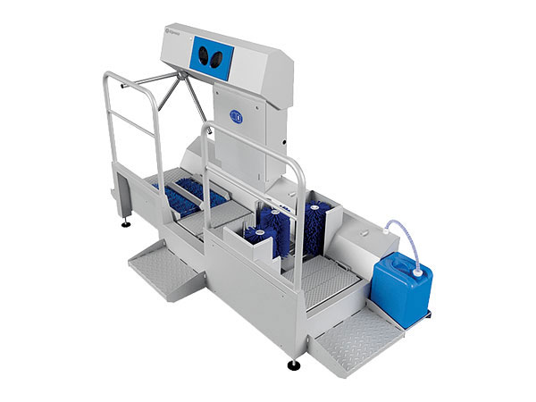 DZW-HDT-EDSW Hygiene Station (Hand Disinfection and Sole & Shin Cleaning)