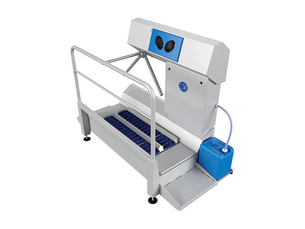 DZW-HDT Hygiene Station (Sole Cleaning & Hand Disinfection)