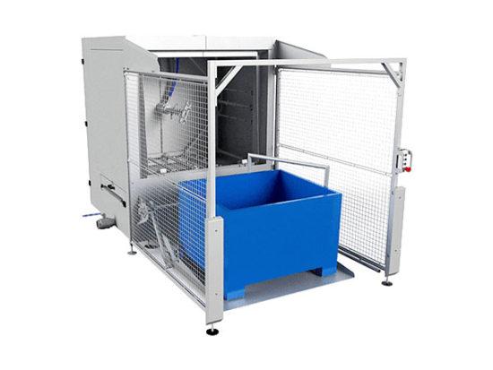 industrial bulk container washing machine