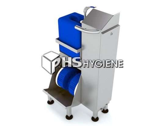 Industrial Sole and Shoe Side Cleaning Machine