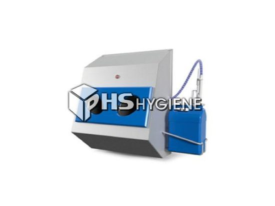 hand disinfection no turnstile