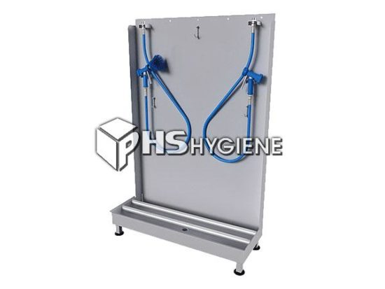 industrial apron washing system