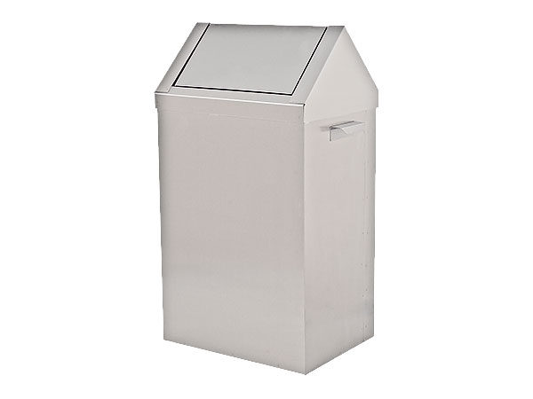 Swinging Lid Paper Waste Basket